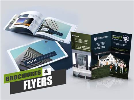 Brochure Design Ideas By Yantram Real Estate Web Development - New York, USA by yantramstudio