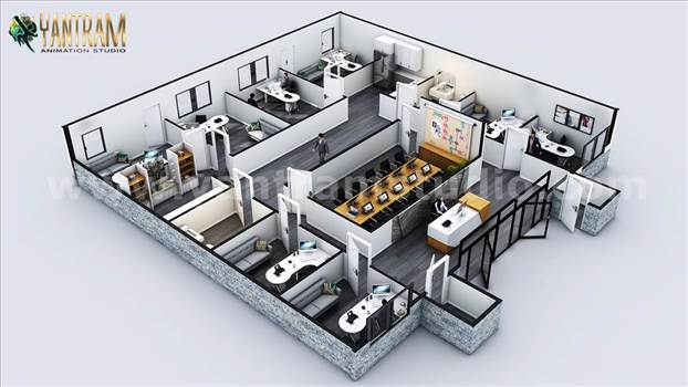 3D_Commercial_Office_Floor_Plan_Designer.jpg by yantramstudio
