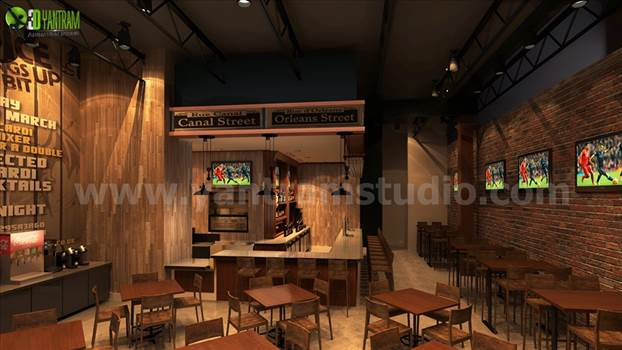 Unique Bar Ideas by Yantram 3d interior designers Perth by yantramstudio