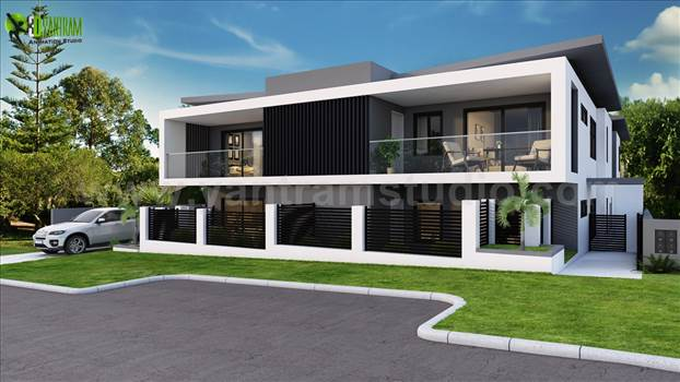 How to sell your property at a good price? We are an Architectural Studio providing the best 3D Rendering for all kind of properties. Most important areas for residential property is Exterior, Living-Kitchen & Bathroom.