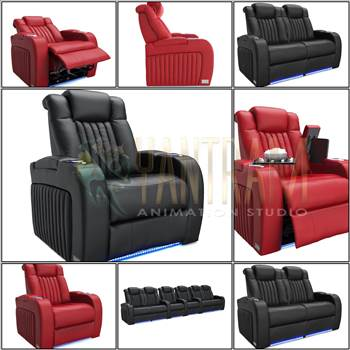 Realistic Sofa Chair Modeling & 3D Product Visualization Services by Architectural Modeling Firm.jpg by yantramstudio