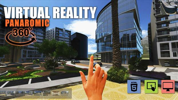 360 Virtual Reality Apps Web Based Application Rome - Along with this pointers and markup we can provide property information on interactive manner to display its price, size and the status whether it is sold or vacant. Developed For Web, Mobile.