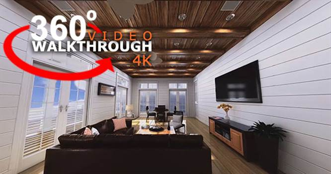 Virtual Reality 360 Walkthrough by yantramstudio