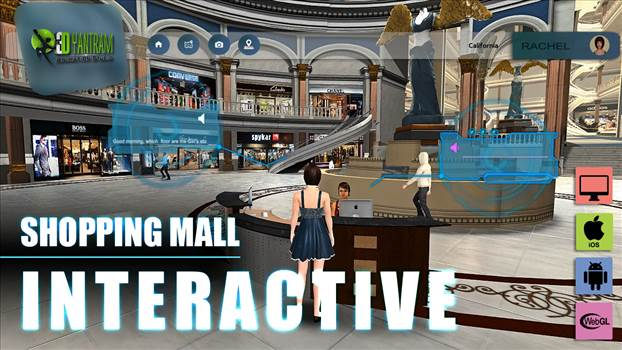 Project 142: VR Shopping Mall Application