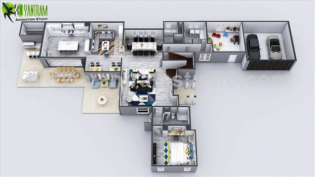 exclusive-new-modern-3d-virtual-floor-plan-of-house-yantram-architectural-design-studio.jpg by yantramstudio