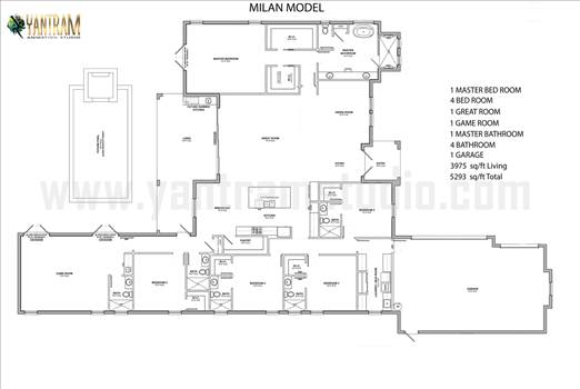 2d floor plan with dimentions design developer, Pearland - Texas.png by yantramstudio