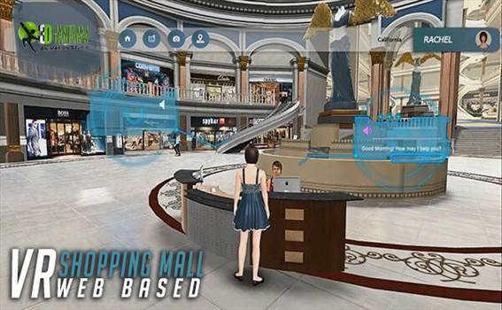 Virtual Interactive shopping Mall Application by yantramstudio