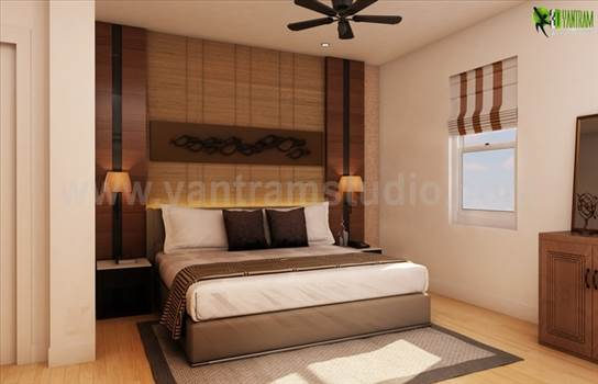 Have a Look of Modern Bedroom Design Ideas for Home by yantramstudio