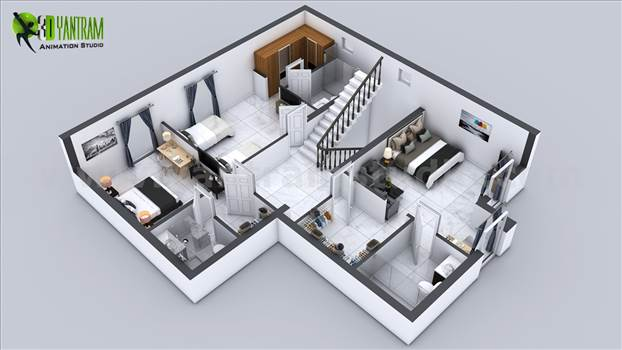First floor plan designer by yantramstudio