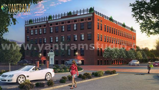 Project 834:- Residential & Commercial 3D Exterior Building Designs Ideas