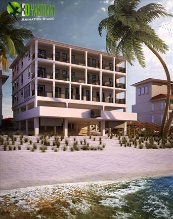 Residential 3D Exterior Beach Side Rendering Modern.jpg by yantramstudio