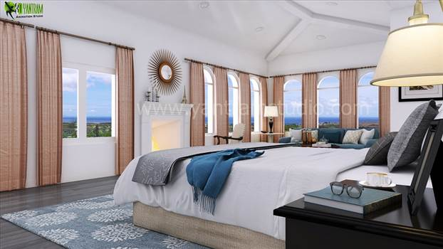 Master Bedroom Design by yantramstudio