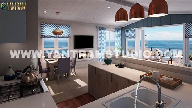 Amazing 3d interior design of kitchen living room by Architectural Visualisation Studio.jpg by yantramstudio