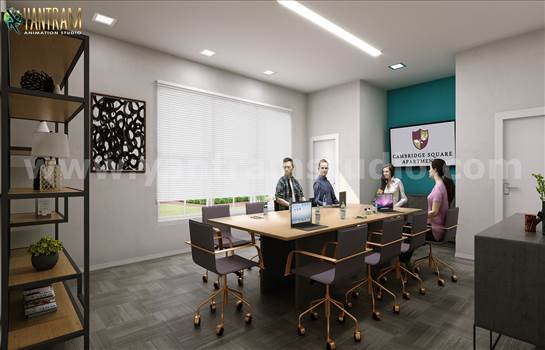 Project 193:- Modern Conference Room Design Concept 