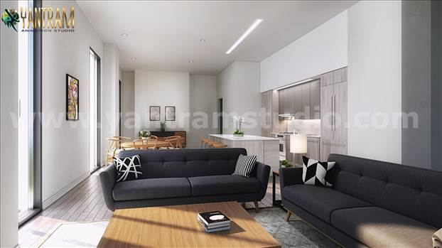 Project 191: Open Space Kitchen Living Room Interior Design Ideas 