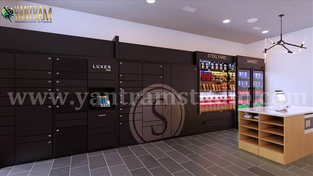 Modern Supermarket 3d interior rendering by 3d architectural design.JPG by yantramstudio