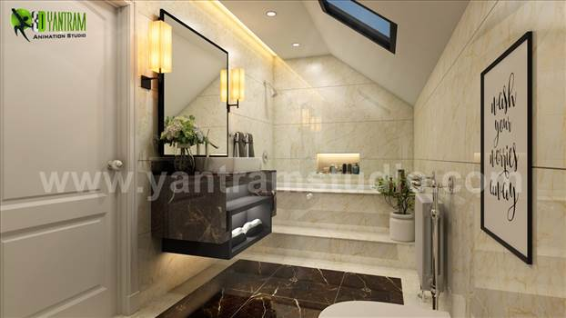 Project 111: Modern Bathroom Interior Design 