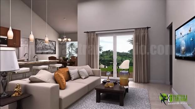 Residential Interior Designer Concept Walkthrough - Condominium 3D Virtual Tour 01.png by yantramstudio