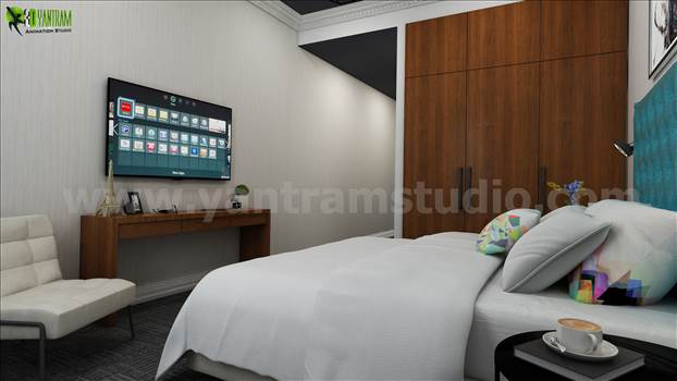 3D Interior Rendering Style  by yantramstudio