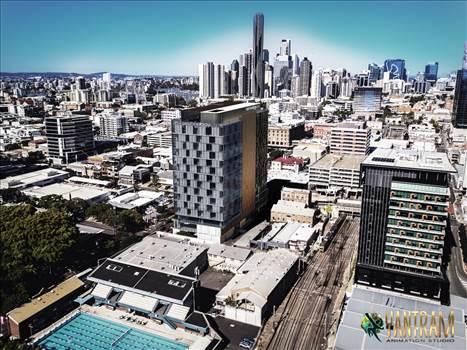 Meet the Yantram real-estate Hi-rise Building design  of the Architectural Design Industry.jpeg by yantramstudio