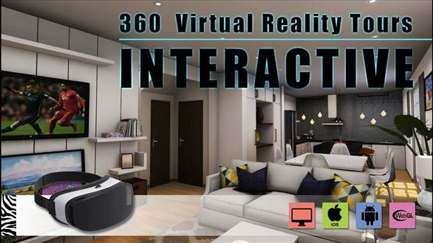 Interactive 360 Virtual Reality Tours walkthrough & Mobile App Development - (Unity3D, Android, iOS).jpg by yantramstudio