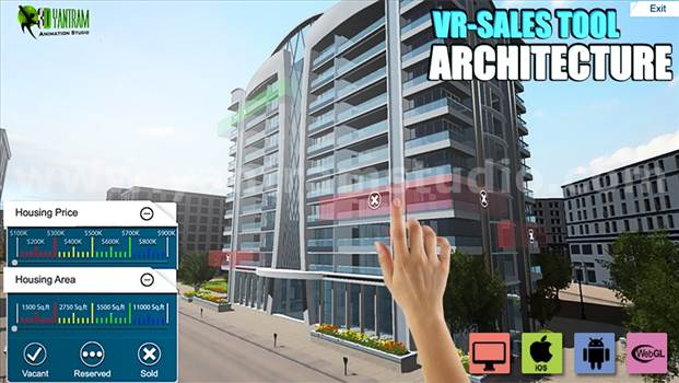 Project 621:- Web base Real estate Architecture VR Apps Development 