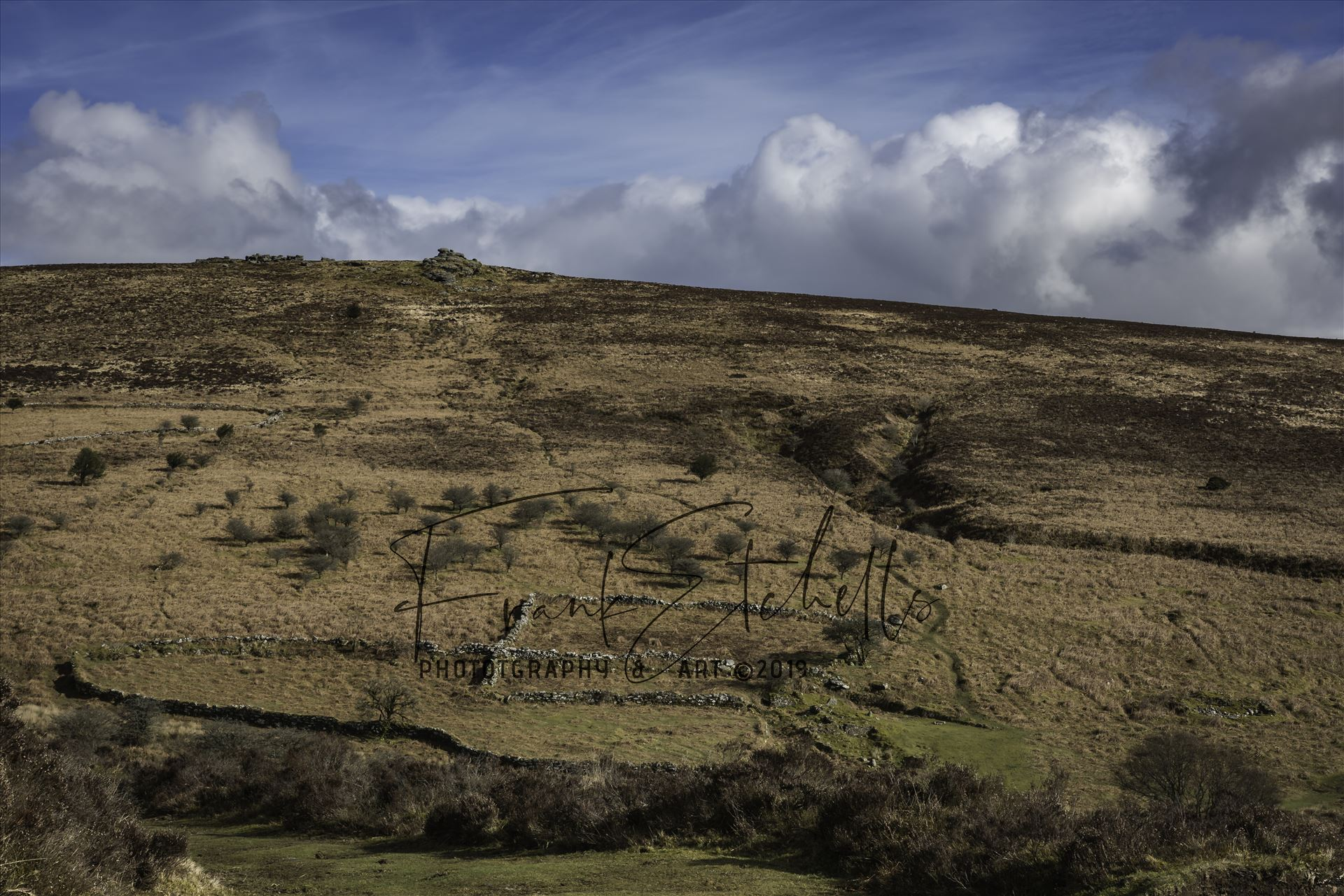 To Birch Tor By Warren House Inn towards Bennett's Cross, Dartmoor, from a small car parking area a path leads towards Birch Tor before continuing round towards Grimspound, Hameldown Tor and Hookney Tor. by Frank Etchells Photography