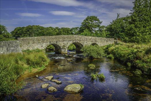 East Dart River Bridge 5 by Frank Etchells Photography