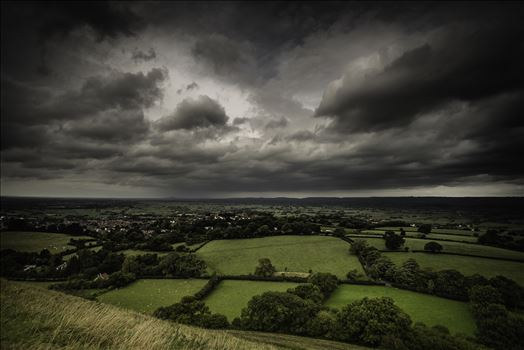 Approaching Storm Clouds by Frank Etchells Photography