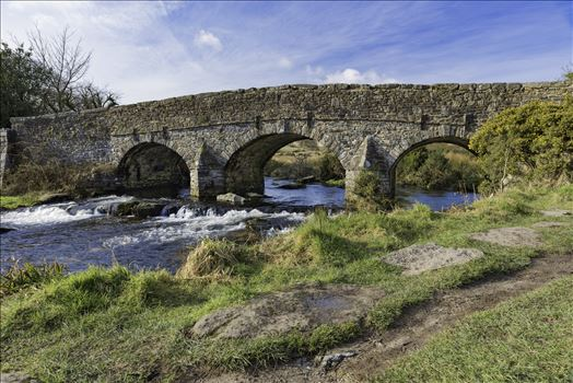 East Dart River Bridge 2 by Frank Etchells Photography