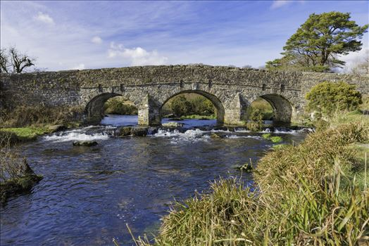 East Dart River Bridge 1 by Frank Etchells Photography