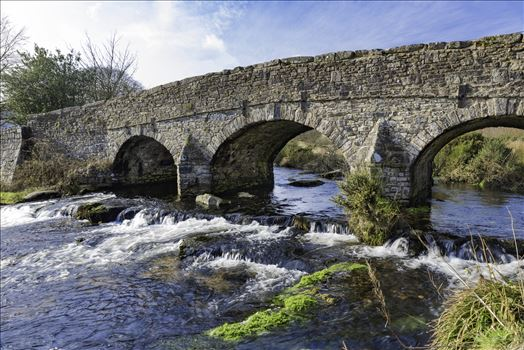 East Dart River Bridge 4 by Frank Etchells Photography