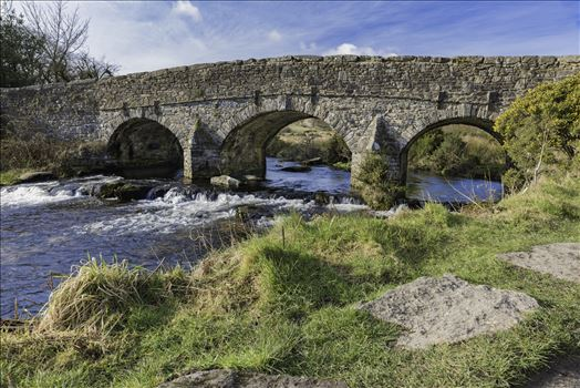 East Dart River Bridge 3 by Frank Etchells Photography