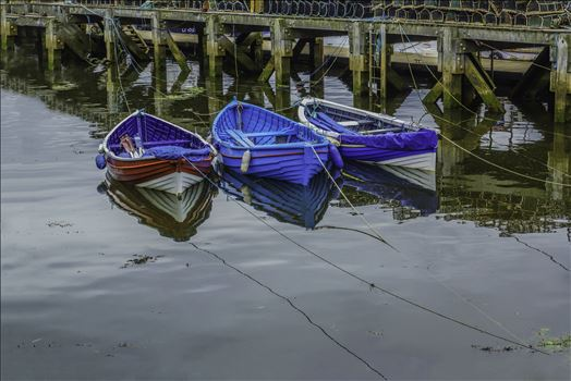 Tethered Boats, Whitby 2 by Frank Etchells Photography