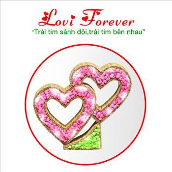 Quà tặng độc đáo Lovi Forever by Shop Niem Tin Tre