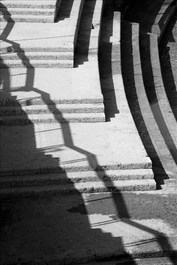 Shadows and stairs by Inna Ricardo-Lax Photography