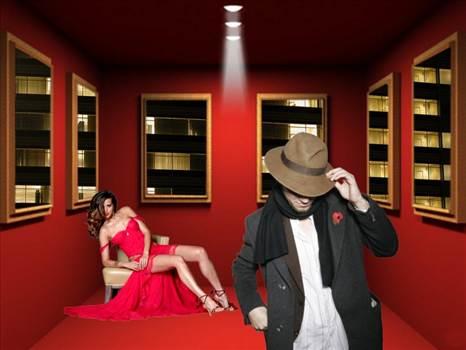 Red Room by mindeye