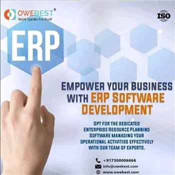 ERP software development company by owebest