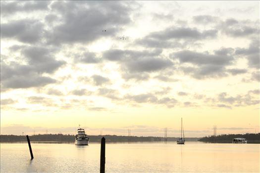 Amazing Sunrise-1.jpg - Sunrise over the St John\u0027s River, Palatka Florida