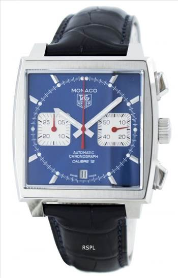 Tag Heuer Monaco Automatic Chrongraph Calibre 12 Swiss Made CAW2111.FC6183 Men's Watch.jpg by creationwatches