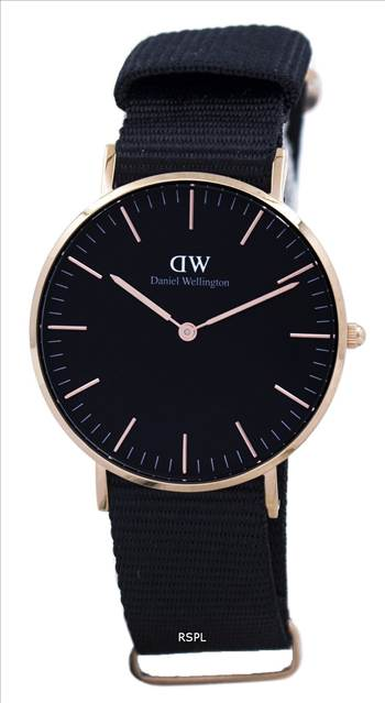 Daniel Wellington Classic Black Cornwall Quartz DW00100150 Unisex Watch.jpg by creationwatches
