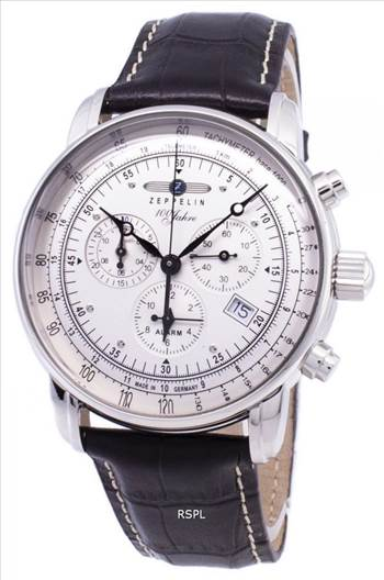 Zeppelin 100 Years ED.1 Germany Made 7680-1 76801 Men's Watch.jpg by creationwatches