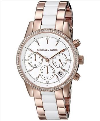 Michael Kors Ritz Quartz Chronograph Women's Watch.jpg by creationwatches