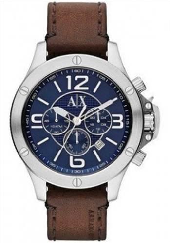 Armani Exchange Chronograph Blue Dial AX1505 Mens Watch -