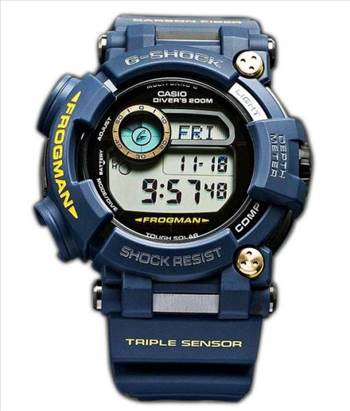 Casio G-Shock FROGMAN Multiband 6 Triple Sensor Divers 200M GWF-D1000NV-2JFMens Watch by creationwatches
