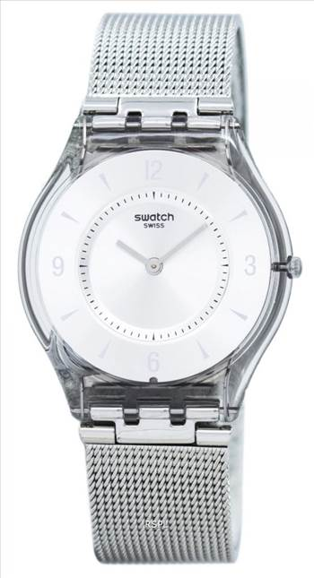 Swatch Skin Metal Knit Quartz SFM118M Women's Watch.jpg -