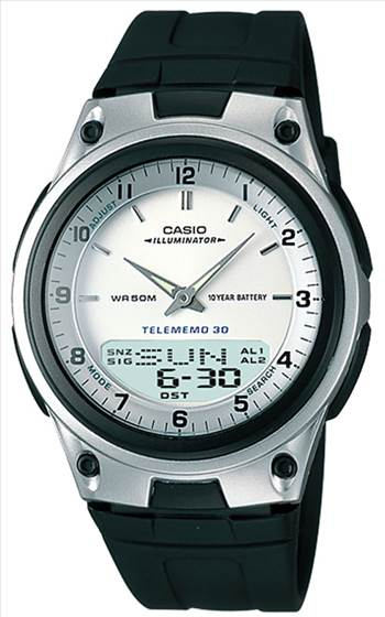 Casio Analog Digital Telememo Illuminator Mens Watch.jpg by orientwatches