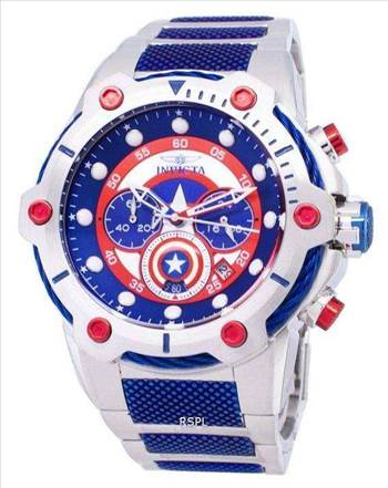 Invicta Marvel 25780 Captain America Limited Edition Chronograph Quartz Men's Watch.jpg by orientwatches