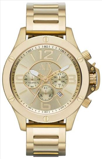 Armani Exchange Chronograph Champagne Dial AX1504 Mens Watch.jpg -