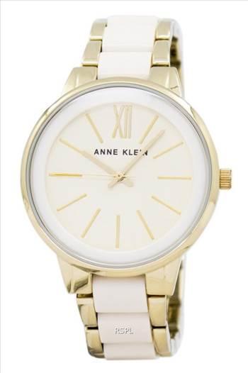 Anne Klein Quartz 1412IVGB Women's Watch.jpg by orientwatches